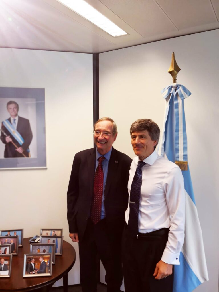 Meeting with Argentinian Ambassador to the EU, Marcelo Cima, 13-09-2018