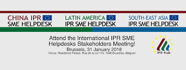 Joint International IPR SME Helpdesks Stakeholder Meeting 2018