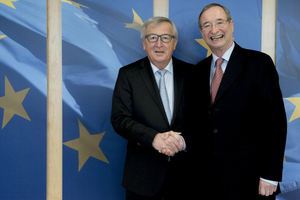 Meeting with EC President Juncker, 23 January 2018