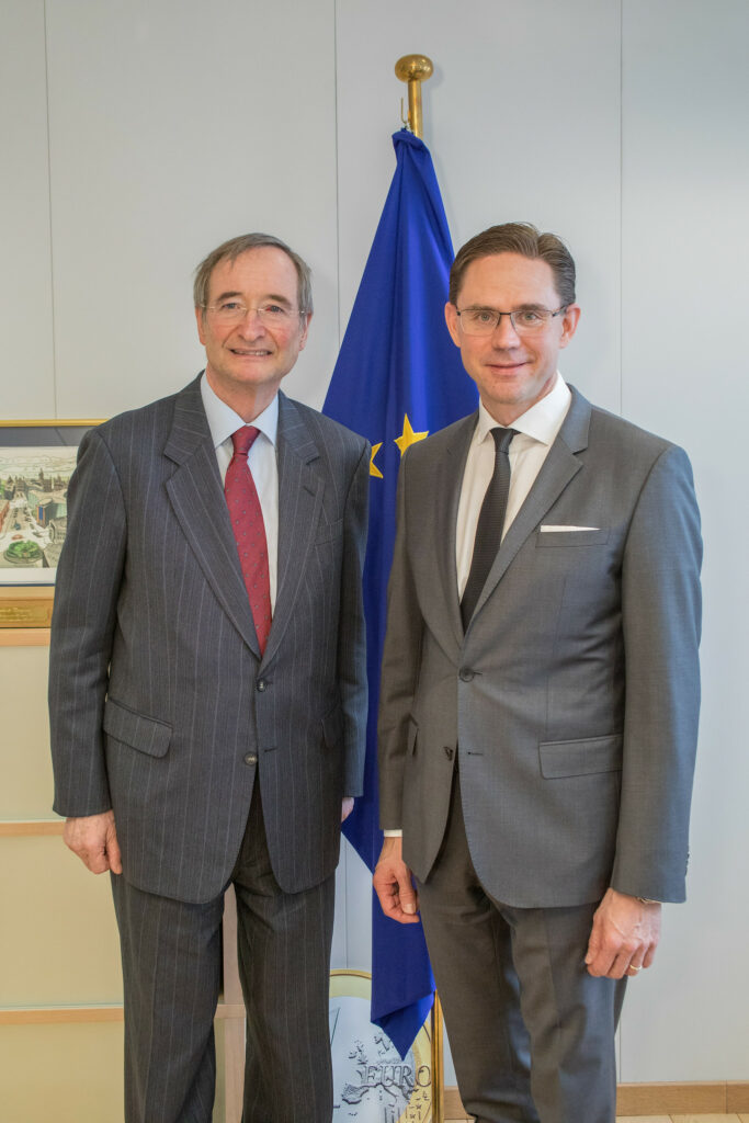 Meeting of President Leitl with EC Vice-President Jyrki Katainen, 06/03/2019