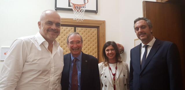President Leitl meeting with Albanian Prime Minister, Edi Rama 14-09-18