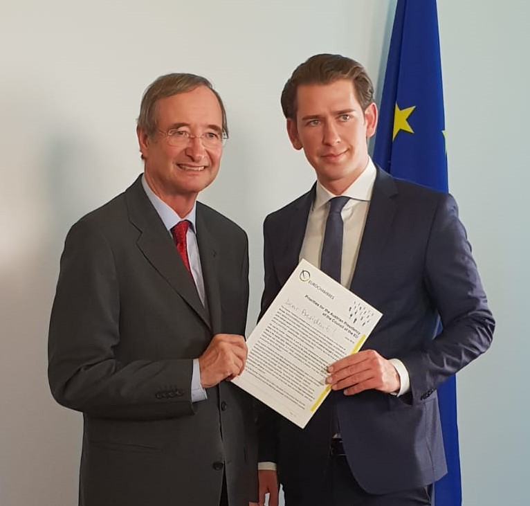 President Leitl meeting with Austrian️ Chancellor Sebastian Kurz