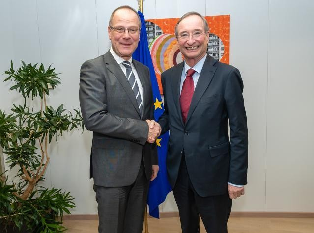 President Leitl meets Commissioner Tibor Navracsics, 10/04/2019