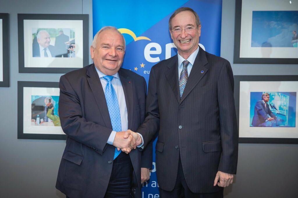 President Leitl meets EPP President, Joseph Daul, 29/01/19