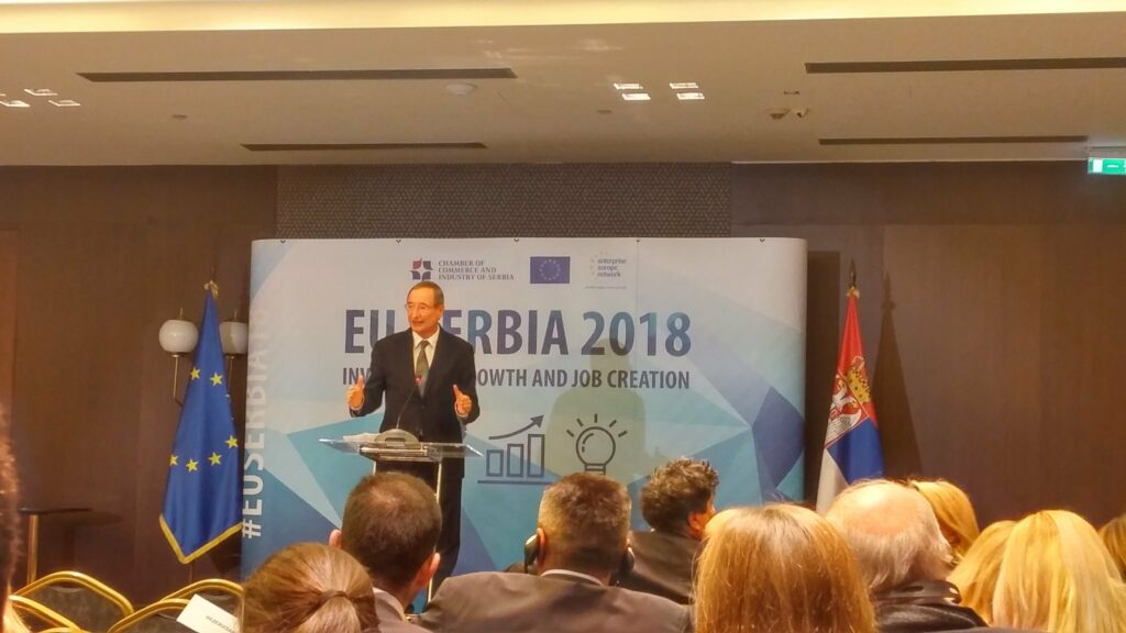 President Leitl visit to Serbia, 31 January 2018