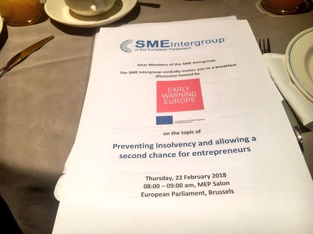 SME Intergroup breakfast, 22 February 2018