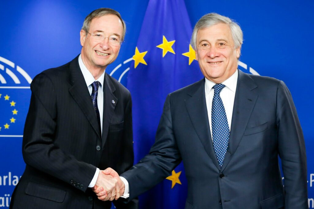Signature of the Memorandum of Understanding between EUROCHAMBRES and the European Parliament for the European election…