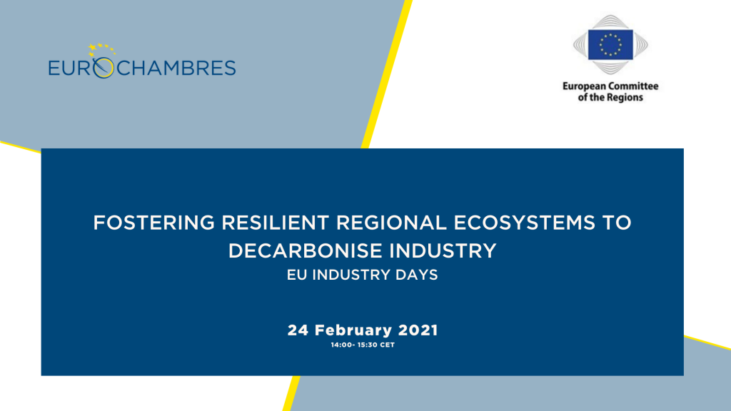 Fostering resilient regional ecosystems to decarbonise industry