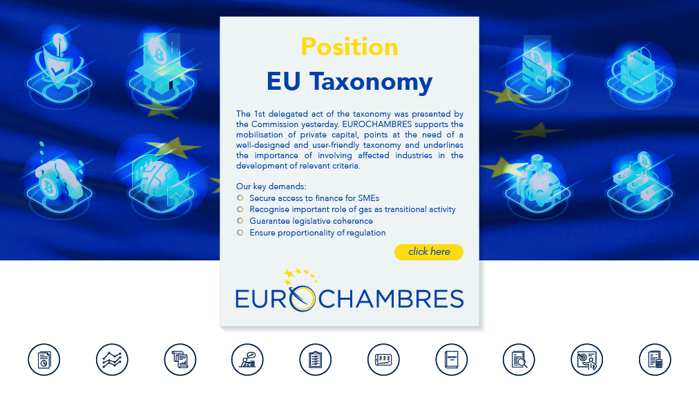EUROCHAMBRES position on the Taxonomy Regulation