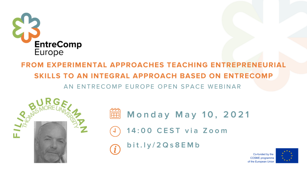 From experimental approaches teaching entrepreneurial skills to an integral approach based on EntreComp