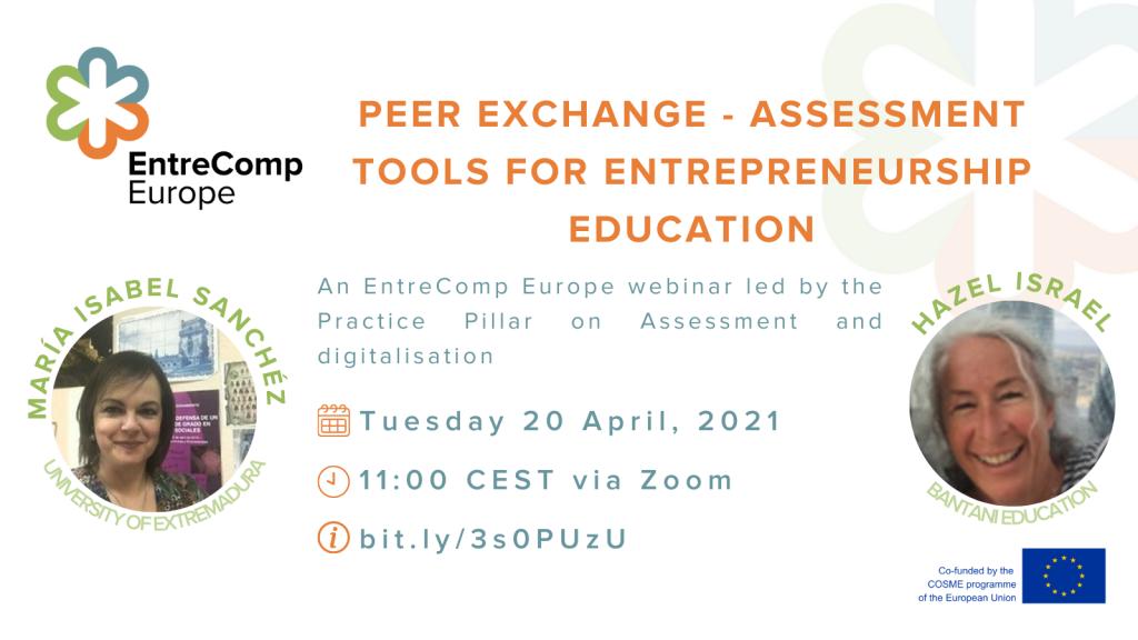 Peer Exchange – Assesment tools for entrepreneurial education