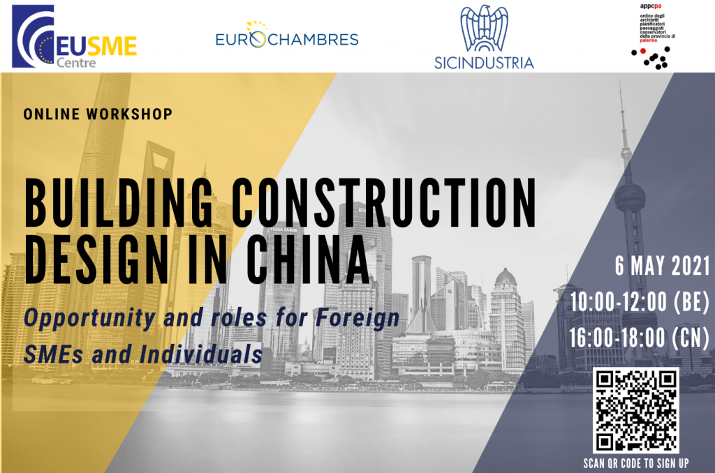 BUILDING CONSTRUCTION DESIGN IN CHINA OPPORTUNITIES AND ROLES FOR EUROPEAN SMES AND PROFESSIONAL